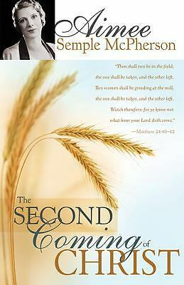 Second Coming Of Christ, Aimee Semple-McPherson, Excellent Book