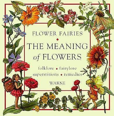 Flower Fairies: The Meaning of Flowers, Barker, Cicely Mary, Good Book