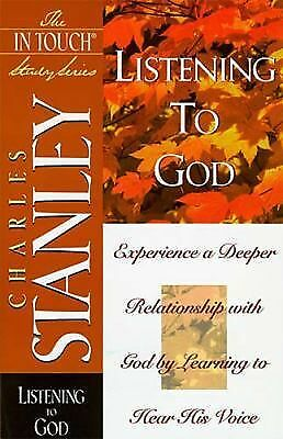 Listening To God (In Touch Study) by Charles Stanley
