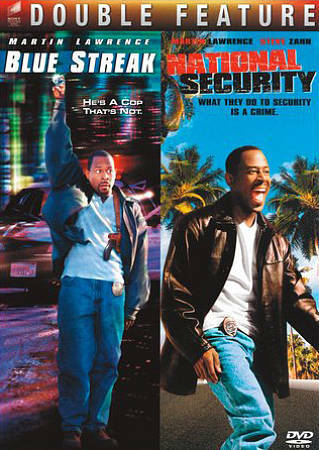 Blue Streak/National Security (Special Edition), Good DVD, Lawrence, Martin,