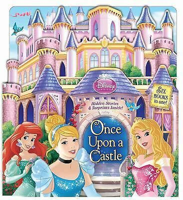 Disney Princess Once Upon a Castle: Hidden Stories, Disney Princess, Good Book