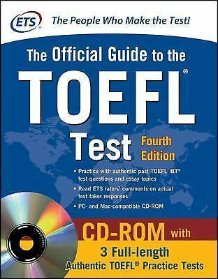 Official Guide to the TOEFL Test With CD-ROM, 4th Edition (Official Guide to the