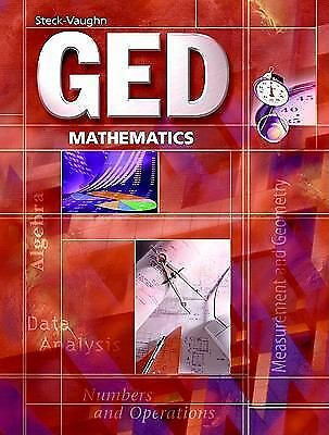 GED Exercise Books: Student Workbook Mathematics - STECK-VAUGHN - New Condition
