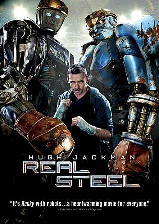 Real Steel, Good DVD, Dakota Goyo, Evangeline Lilly, Hugh Jackman, Shawn Levy