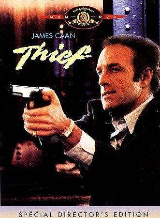 THIEF by Michael Maan (DVD) James Caan