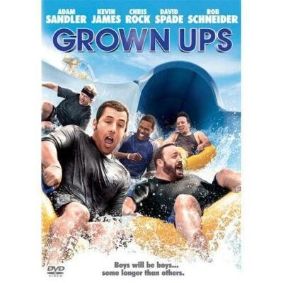 Grown Ups  DVD Adam Sandler, Salma Hayek, Kevin James, Chris Rock, David Spade
