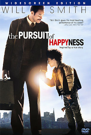 The Pursuit of Happyness (DVD, 2007, Widescreen) Will Smith