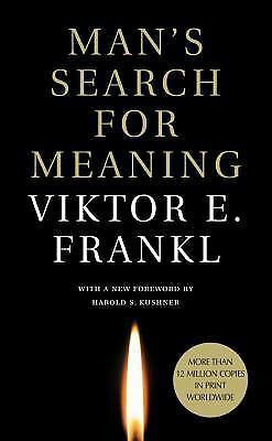 Man's Search for Meaning, Viktor E. Frankl, Acceptable Book