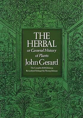 The Herbal or General History of Plants (Deluxe Clothbound Edition), Gerard, Joh