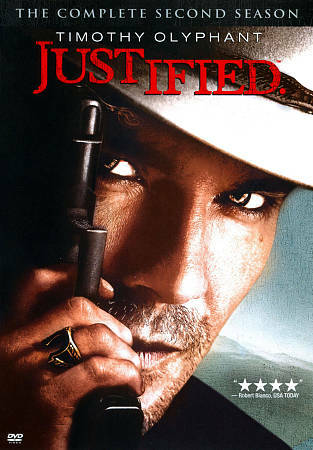 Justified: The Complete Second Season DVD, 2012, 3-Disc Set