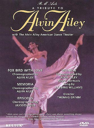 A Tribute to Alvin Ailey (DVD, 2000)-Keith jarrett-Charlie Parker-April Berry