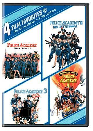 Police Academy 1-4 Collection: 4 Film Favorites by Steve Guttenberg