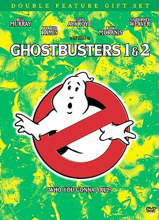 Ghostbusters Double Feature Gift Set (Ghostbusters/ Ghostbusters 2 and Commemor