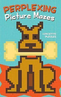 Perplexing Picture Mazes by Conceptis Puzzles