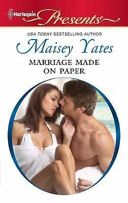 Marriage Made on Paper by Yates, Maisey