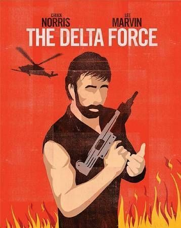 Delta Force, The Blu-ray by