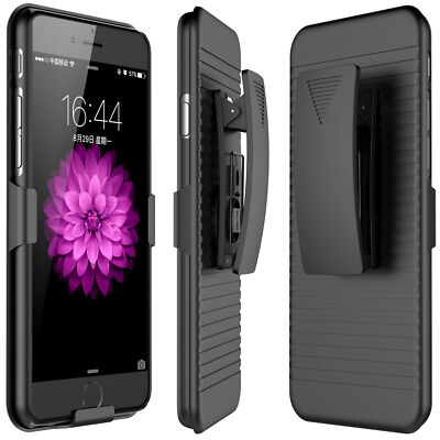 Belt Clip Holster Combo Defender Protective Case for Apple iPhone 7 / 7 Plus