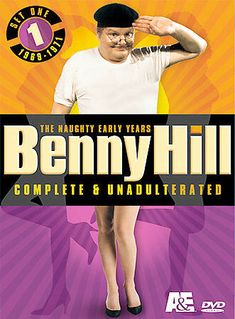 Benny Hill Complete and Unadulterated: The Naughty Early Years, Set One - 1969-