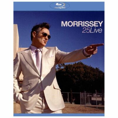 Morrissey: 25 - Live DVD Region 1 HOLE in UPC:: Clear blu ray case::1365E