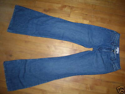 HABITUAL Med Wash Flare Bellbottom Jeans 26