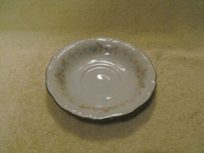 JOHANN HAVILAND  SAUCER  FLORAL SPLENDOR BAVARIA GERMANY