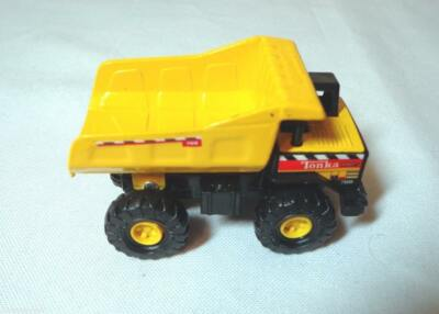 MAISTO TONKA BY HASBRO MIGHTY TONKA QUARRY DUMP TRUCK #768 FROM 2000 1:64