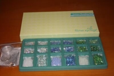 Closeout QVC Professional Quality Beading Kits (3)  BEADS ONLY