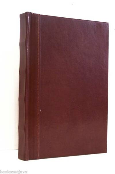 BONDED LEATHER WRITING JOURNAL Raised Spine 8.75x6inNEW