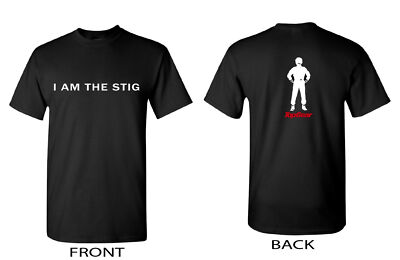 "KEITH URBAN'S ""I AM THE STIG"" T-SHIRT, AS SEEN ON IDOL! ALL SIZES AVAILABLE."