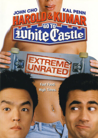 Harold & Kumar Go To White Castle (DVD 2005 Unrated Ver.) John Cho, Neil Patrick