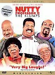 Nutty Professor II: The Klumps (DVD, 2000, Collector's Edition) Eddie Murphy
