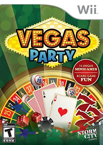 Vegas Party - Nintendo Wii, Good Nintendo Wii, Nintendo Wii Video Games