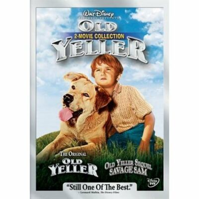 Old Yeller 2-Movie Collection (Old Yeller/Savage Sam), DVD, Brian Keith, Tommy K