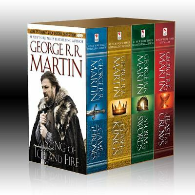 A Song of Ice and Fire, (4 Vols.): A Game of Thrones / A Clash of Kings / A Stor