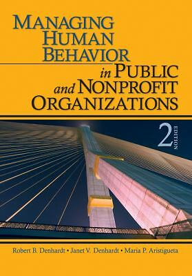 Managing Human Behavior in Public and Nonprofit Organizations, Aristigueta, Mari