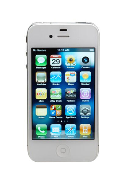 Apple iPhone 4 - 8GB - White (Verizon) Smartphone