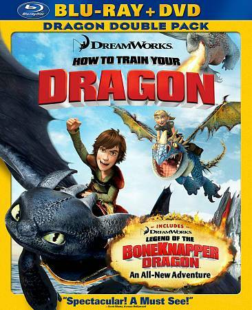 How to Train Your Dragon (Two-Disc Blu-ray/DVD Combo), DVD, Philip McGrade, Robi