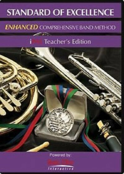 KJOS Standard Of Excellence Enhanced Band CD PW21IPTE iPAS Teacher's Editition