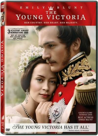 The Young Victoria, DVD, Emily Blunt, Rupert Friend, , AC-3, Closed-captioned, C