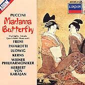 Madame Butterfly, Vienna Philharmonic Orch., Karaj,