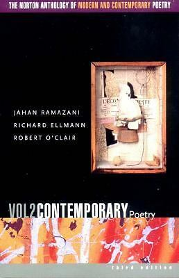 Norton Anthology Modern and Contemporary Poetry Vol. 2 (3rd Ed) by Ramazani...