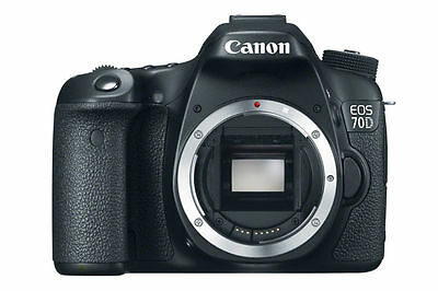 Canon EOS 70D 20.2 MP Digital Camera  Body Only