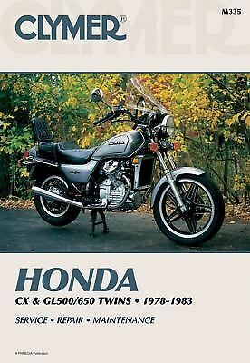 Honda Cx & Gl500/650 Twins 1978-1983 Service Repair Maintenance, Haynes Manuals