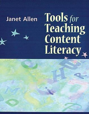Tools for Teaching Content Literacy, Allen, Janet, Good Book