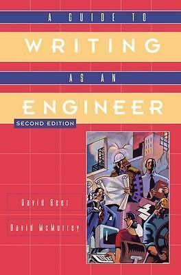 A Guide to Writing as an Engineer, McMurrey, David A., Beer, David F., Books