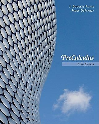 Precalculus by Faires, J. Douglas, DeFranza, James