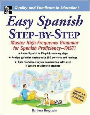 Easy Spanish Step-By-Step, Barbara Bregstein,  Book