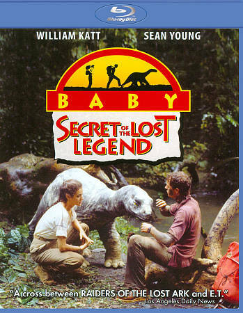 Baby: The Secret of the Lost Legend   New!! Sealed!!     Blu-ray    Kids/Family