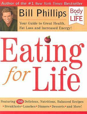 Eating For Life, Bill Phillips, Acceptable Book
