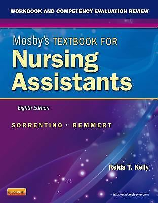 Workbook & Comp Evaluation Review 8th Ed for Mosby's Textbook Nursing Assistants
